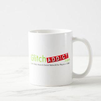 Mercancía del adicto a la interferencia taza de café