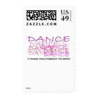 Mercancía del bailarín de ballet sello