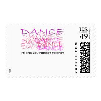Mercancía del bailarín de ballet franqueo