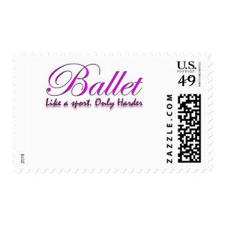 Mercancía del bailarín de ballet sellos