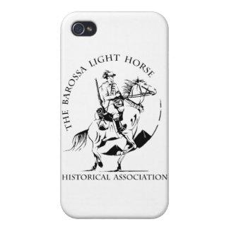 Mercancía del caballo ligero de Barossa iPhone 4 Carcasas