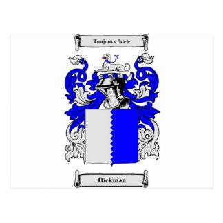 Mercancía del escudo de armas de la familia tarjeta postal