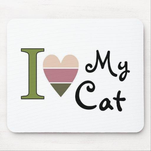 Mercancía del gato mousepads