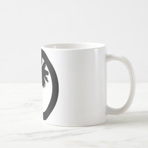 Mercancía del horizonte del Palmetto Tazas De Café