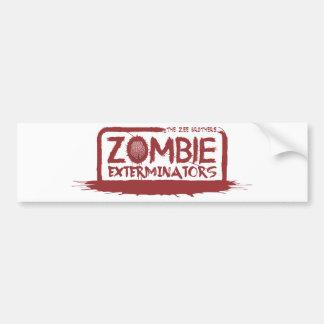 Mercancía del logotipo de los Exterminators del Pegatina Para Coche