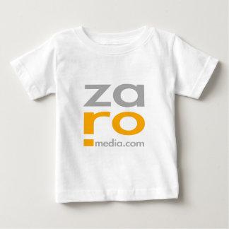 Mercancía del logotipo de ZARO en blanco Polera