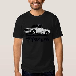 Mercancía del logotipo del camión de Luv Camisas
