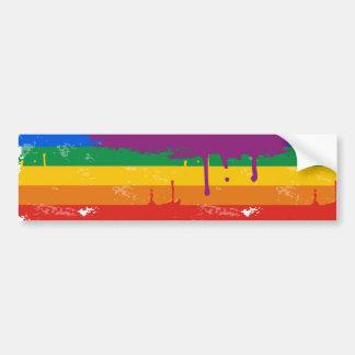 Mercancía del orgullo gay pegatina de parachoque
