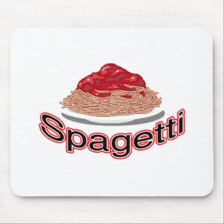 mercancía del spagetti tapetes de raton