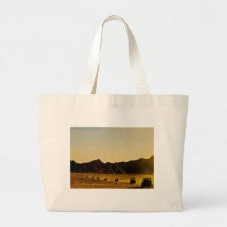 Mercancía egipcia del desierto bolsa tela grande