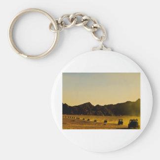 Mercancía egipcia del desierto llavero redondo tipo pin