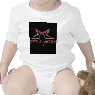 Mercancía mortinata del logotipo trajes de bebé