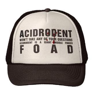 Mercancía oficial de Acidrodent Gorros