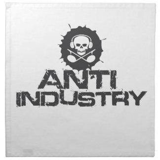 Mercancía oficial de Antiindustry Servilletas