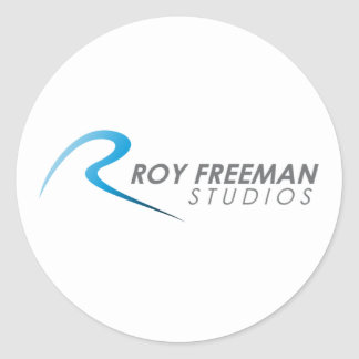 Mercancía oficial de los estudios de Roy Freeman Etiqueta Redonda