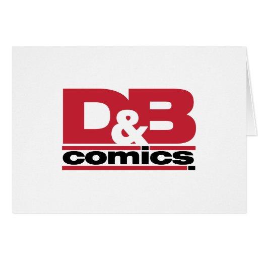 Mercancía oficial de los tebeos de D&B Felicitacion