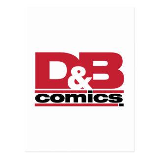 Mercancía oficial de los tebeos de D&B Postal