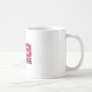 Mercancía oficial de los tebeos de D&B Taza Básica Blanca