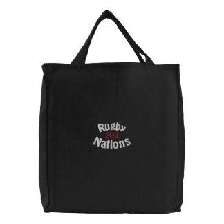 mercancía patriótica de 2011 fans bolsa de tela bordada
