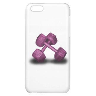 Mercancía rosada de las pesas de gimnasia