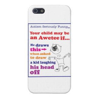 Mercancía seriamente divertida del autismo iPhone 5 fundas