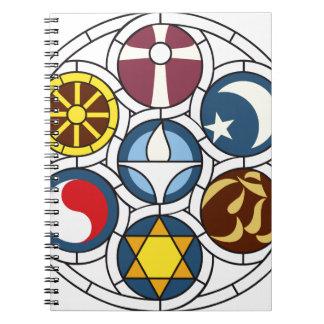 Mercancía universalista unitaria libreta espiral
