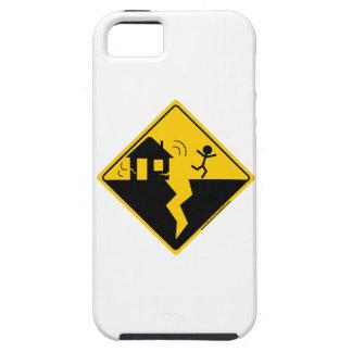 Mercancía y ropa de la advertencia del terremoto iPhone 5 fundas