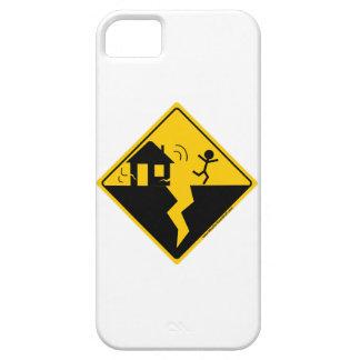 Mercancía y ropa de la advertencia del terremoto iPhone 5 cárcasas
