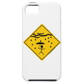 Mercancía y ropa de la advertencia del tiempo de iPhone 5 protector