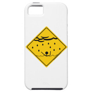 Mercancía y ropa de la advertencia del tiempo de l iPhone 5 Case-Mate protectores