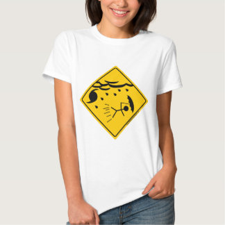 Mercancía y ropa de la advertencia del tiempo del camisas