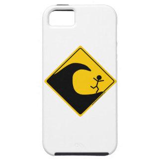 Mercancía y ropa de la advertencia del tiempo del  iPhone 5 protectores