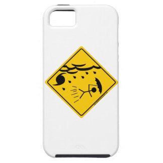 Mercancía y ropa de la advertencia del tiempo del iPhone 5 Case-Mate protectores