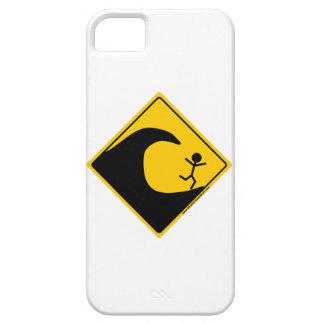 Mercancía y ropa de la advertencia del tiempo del iPhone 5 carcasas