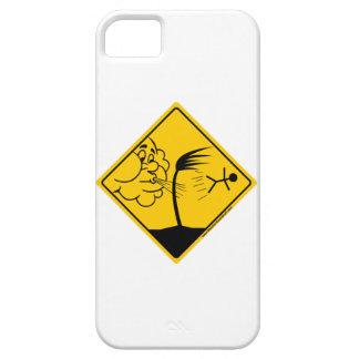 Mercancía y ropa de la advertencia del tiempo vent iPhone 5 Case-Mate coberturas
