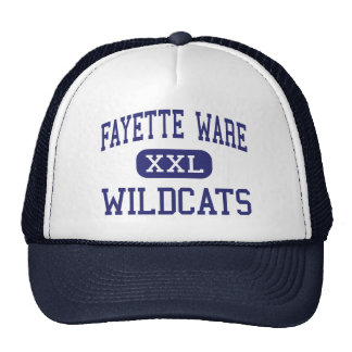 Mercancías de Fayette - gatos monteses - Somervill Gorros Bordados