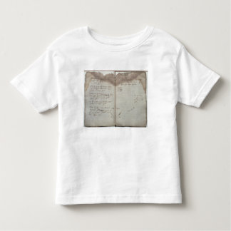 Mercantile documents, letter of acceptance of chan toddler t-shirt