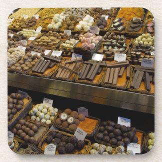 Mercat de Sant José, caramelo de chocolate clasifi Posavaso
