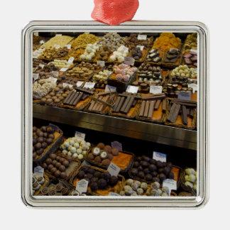 Mercat de Sant José, caramelo de chocolate Ornamentos De Navidad