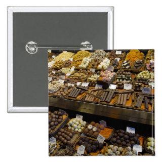 Mercat de Sant Josep, assorted chocolate candy Button