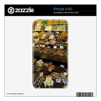 Mercat de Sant Josep, assorted chocolate candy Decals For The iPhone 4