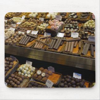 Mercat de Sant Josep, assorted chocolate candy Mouse Pads