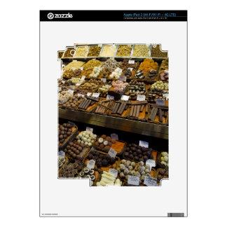 Mercat de Sant Josep, assorted chocolate candy iPad 3 Decals
