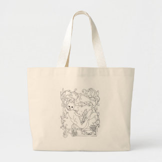 MerCat with Trident Tote Bag