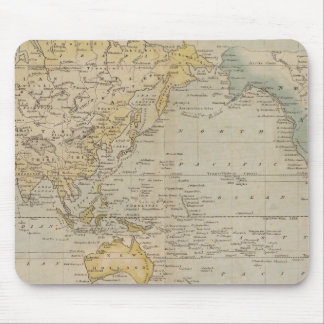 Mercator's Chart Mouse Pad