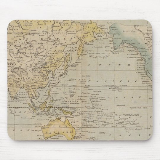 Mercator's Chart Mouse Pad