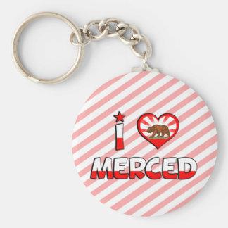 Merced, CA Keychain