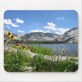 Merced Lake Flowers - Yosemite Mouse Pad