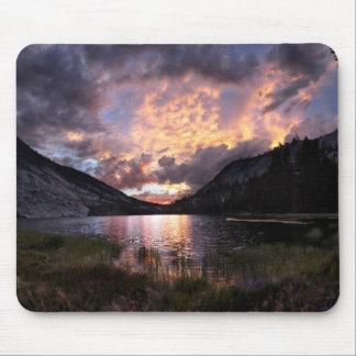 Merced Lake Sunset - Yosemite Mouse Pad