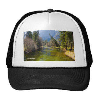 Merced River April Foliage Yosemite California Trucker Hat